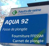AQUA92 - Carnet de plongée